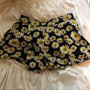 Forever 21 Floral Skirt/Skort